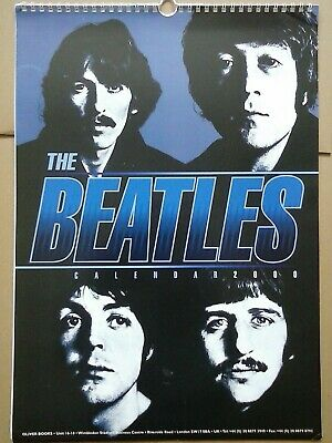 The Beatles - Unofficial 2000 Calendar - Made In The UK - Oliver Books • 5.99£