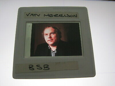 VAN MORRISON 35mm Promo Press Photo Slide #10115 • 4.99£