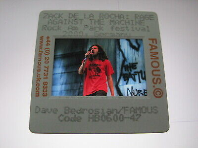 RAGE AGAINST THE MACHINE RATM 35mm Promo Press Photo Slide #18611 • 4.99£