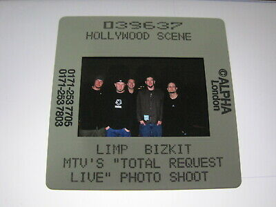 LIMP BIZKIT  35mm Promo Press Photo Slide #3768 • 4.99£