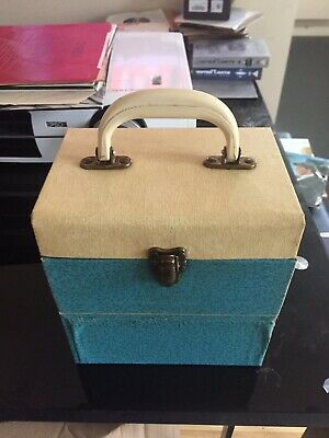 """Vintage Boots Winel 7"""" Record Case • 19.99£"""