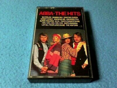 Abba - The Hits (Vol.1) Cassette Tape - Hallmark - Tested. - Excellent Condition • 5.95£