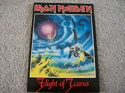 Vintage Iron Maiden - Flight Of Icarus Unused Postcard • 2.50£