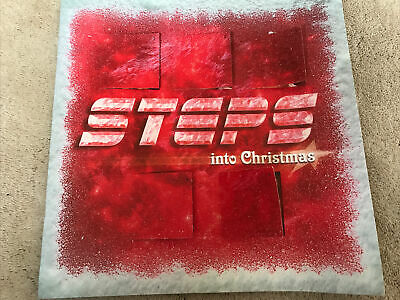 * RARE STEPS INTO CHRISTMAS 2000 TOUR PROGRAMME Great Condition * • 0.99£