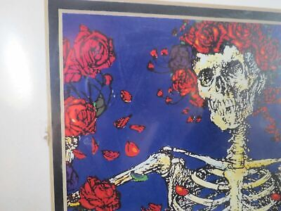 STANLEY MOUSE SIGNED AUTOGRAPH BERTHA ART SKULL & ROSE Jerry Garcia Poster Print • 178.81£