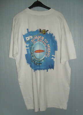 Dr. Martens Reading 1998 Concert T-shirt, Large. Gomez, Dawn Of The Replicants. • 1£
