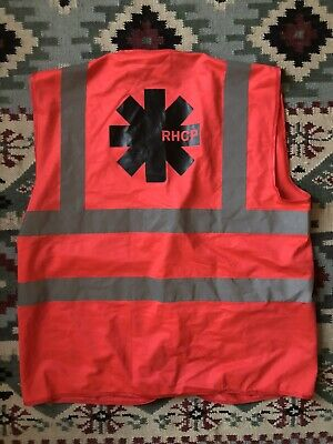 Red Hot Chili Peppers Crew Only Hi Vis Safty Vest  • 20£