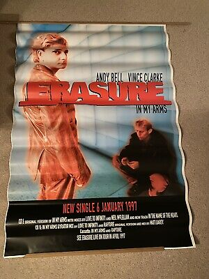 Very Rare Erasure Display Poster - In My Arms 1997 Release • 25.99£