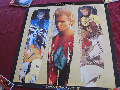 POLICE Synchronicity Promo Poster 24x24 Sting • 5.71£