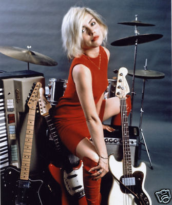 Blondie Debbie Harry Awesome New 10x8 Photo Drums • 5.99£