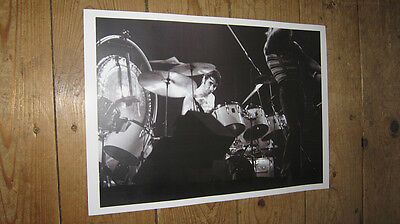 Keith Moon The Who Great New BW POSTER • 5.99£