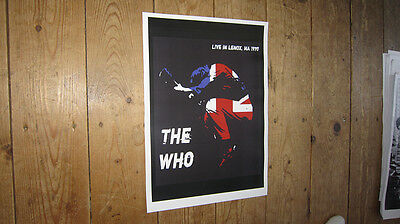 Roger Daltrey The Who Live In Lenox Repro POSTER • 5.99£