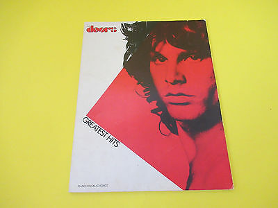 Doors - Greatest Hits 1983 Songbook Piano Guitar Vocal • 11.81£