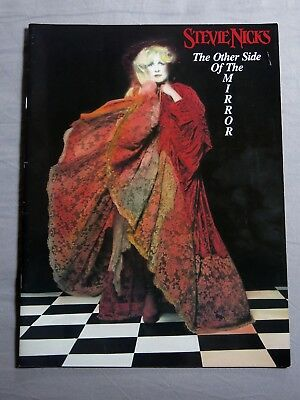 STEVIE NICKS The Other Side Of The Mirror 1989 Tour Programme + Tickets! • 50£