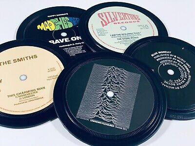 MANCHESTER Music Coasters. Oasis THE SMITHS Joy Division STONE ROSES New Order • 20£