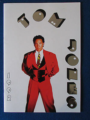 Tom Jones - Concert Tour Programme - 1992 • 9.99£