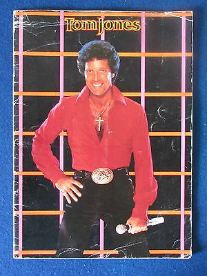 Tom Jones - Concert Tour Programme - 1983 • 9.99£