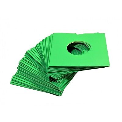 50 X 7  Green Card Record Masterbags Sleeves / Covers *new*  • 8.96£