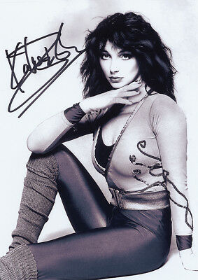 Kate Bush Fantastic New POSTER With Copy Autograph • 5.99£