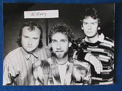Original Press Photo - 9.5 X7  - Genesis - 1987 • 9.99£