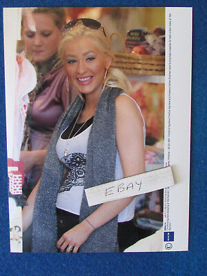 Original Press Photo - 8 X6  - Christina Aguilera - 2007 - D • 9.99£