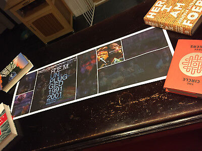 Panoramic R.E.M. Unplugged 1991-2001 Poster 36 X 12 • 15.44£