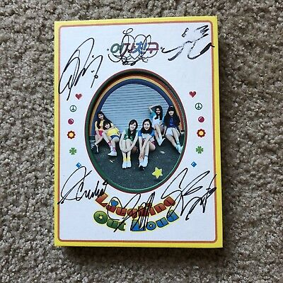 GFRIEND LOL Album Signed All Members *FLAWED* With Photocards • 29.63£
