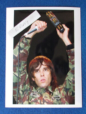Original Press Photo - 8 X6  - The Stone Roses - Ian Brown - 2002 - F • 9.99£