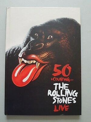 Rolling Stones 50 & Counting Limited Edition Hardback Tour Program  • 24.99£