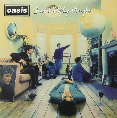 OASIS Wall Poster DEFINITELY MAYBE Britpop Noel Liam Gallagher  20X20  30X30  • 10.99£