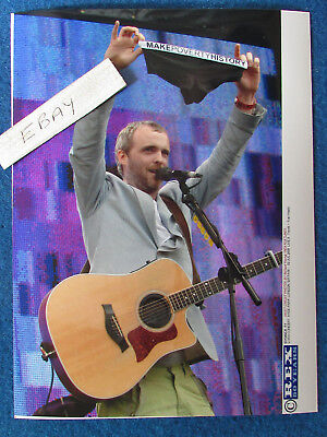 Original Press Photo - 8 X6  - TRAVIS - Fran Healy - 2005 - H • 5.99£