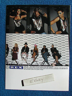 Original Press Photo - 8 X6  - Christina Aguillera & Boy George & Missy Elliott • 7.99£