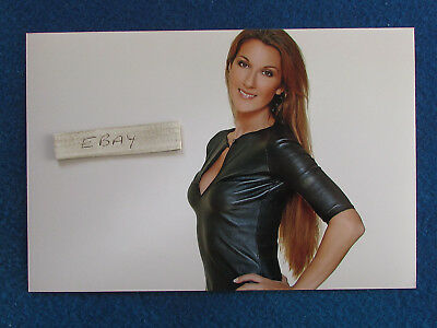 Celine Dion - 9 X6  Photo - H - See Description • 5.99£