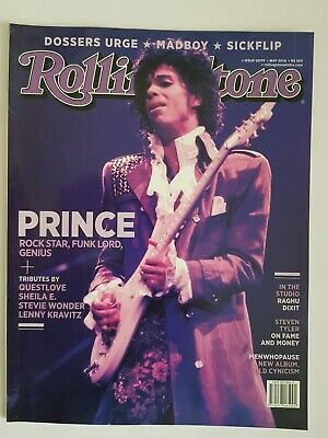 PRINCE ROLLING STONE Magazine INDIA EDITION 2016  • 19.99£