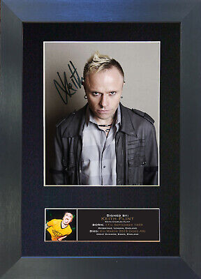 KEITH FLINT The Prodigy Signed Mounted Reproduction Autograph Photo Print A4 779 • 17.99£