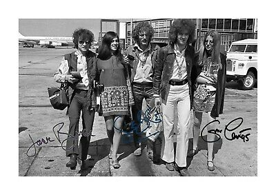 Cream (2) A4 Reproduction Autograph Picture Poster. Choice Of Frame. • 27.99£