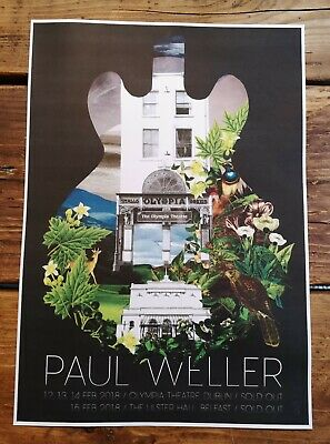 Paul Weller Concert Posters The Jam Mod True Meanings Aspects  • 12.99£