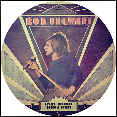 Rod Stewart. Every Picture Tells A Story Repro Record Label Sticker • 2£