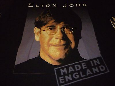 Elton John Vintage 1995 Tour Shirt ( Size XL ) NEW DEADSTOCK !!! • 22.03£