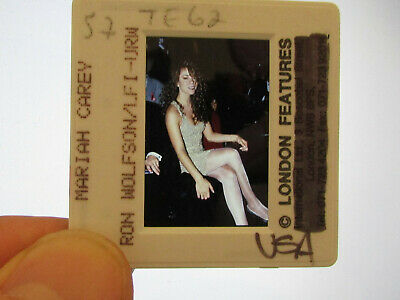Original Press Promo Slide Negative - Mariah Carey - 1990's - C • 21.99£