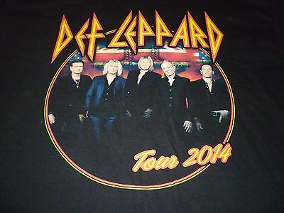 Def Leppard 2014 Tour Shirt ( Size XL ) NEW!!! • 17.71£