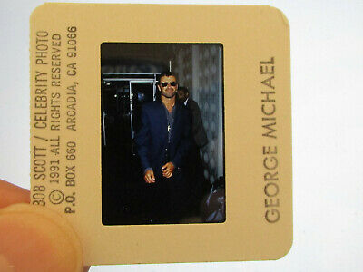 Original Press Promo Slide Negative - George Michael - 1991 - B • 31.99£