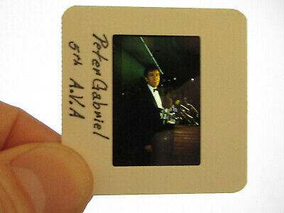 Original Press Promo Slide Negative - Peter Gabriel - 1980's • 31.99£