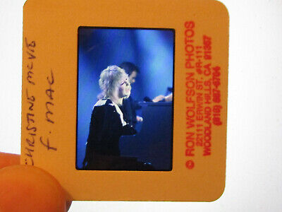 Original Press Promo Slide Negative - Fleetwood Mac - Christine McVie - 1980s • 25.99£
