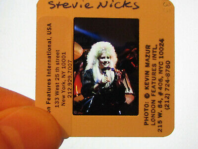 Original Press Promo Slide Negative - Fleetwood Mac - Stevie Nicks - 1980s - B • 31.99£