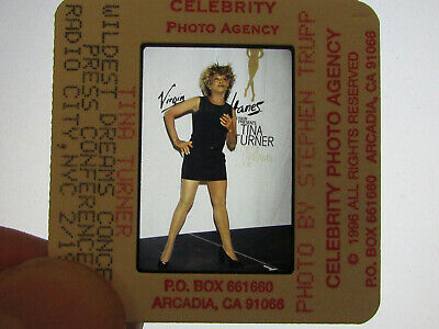 Original Press Promo Slide Negative - Tina Turner - 1997 - B • 25.99£
