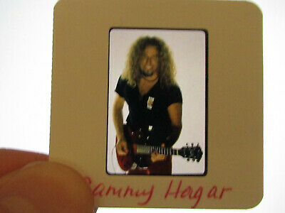 Original Press Promo Slide Negative - Van Halen - Sammy Hagar - 1990's • 25.99£