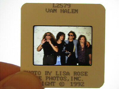 Original Press Promo Slide Negative - Van Halen - 1992 • 25.99£