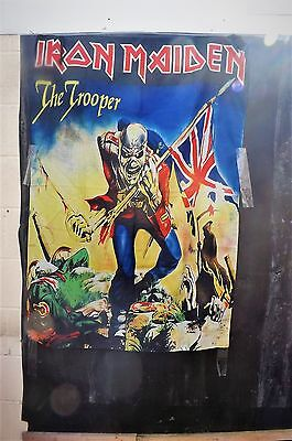Iron Maiden Wall Hanger/bed Spread The Trooper • 150£