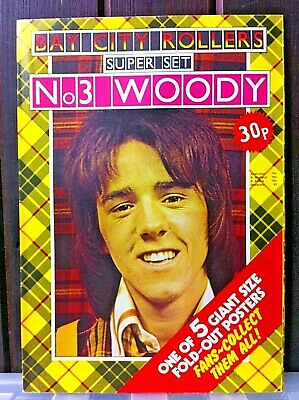 Bay City Rollers Superset Giant Fold-out Poster No.3. 70s Collectors Items RARE! • 50£